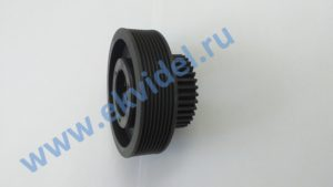 5400300097 (5400300072) Шестерня М=1,5 Z=34+шкиф / Tooth wheel M=1.5 Z=34+poly‑V pulley