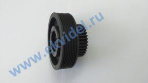 5400300097 (5400300072) Шестерня М=1,5 Z=34+шкиф / Tooth wheel M=1.5 Z=34+poly‑V pulley